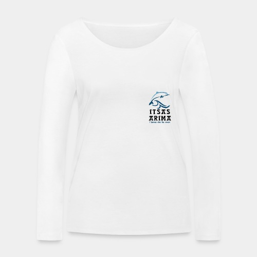 Logo Itsas Arima - T-shirt manches longues bio Stanley & Stella Femme