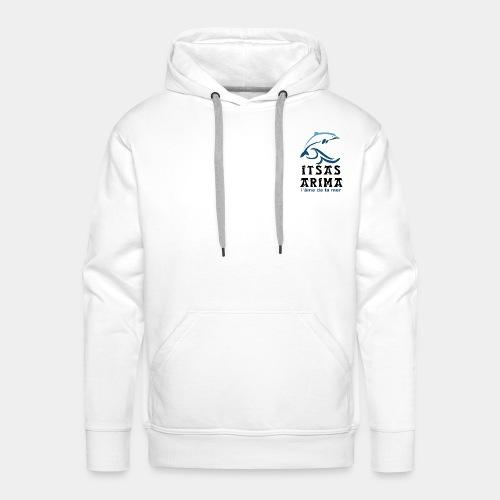 Logo Itsas Arima - Sweat-shirt à capuche Premium pour hommes