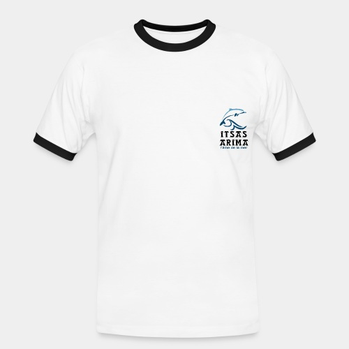 Logo Itsas Arima - T-shirt contrasté Homme