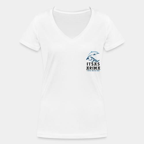 Logo Itsas Arima - T-shirt bio col V Stanley & Stella Femme