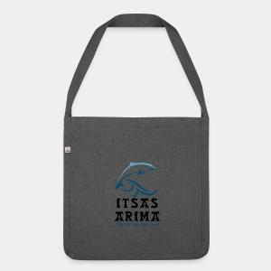 Logo Itsas Arima - Sac bandoulière 100 % recyclé