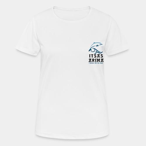 Logo Itsas Arima - T-shirt respirant Femme