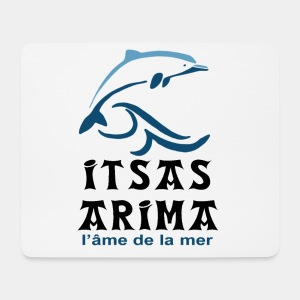 Logo Itsas Arima - Tapis de souris (format paysage)