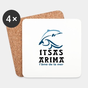 Logo Itsas Arima - Dessous de verre (lot de 4)