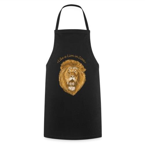 like a lion in zion/ - Tablier de cuisine