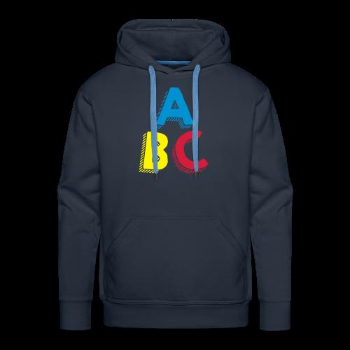 ABC (WOMEN) - Sweat-shirt à capuche Premium pour hommes