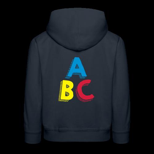 ABC (WOMEN) - Pull à capuche Premium Enfant