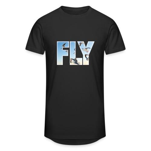 FLY 2 T-Shirts - Männer Urban Longshirt