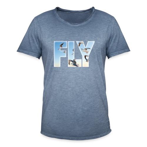 FLY 2 T-Shirts - Männer Vintage T-Shirt