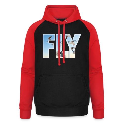 FLY 2 T-Shirts - Unisex Baseball Hoodie