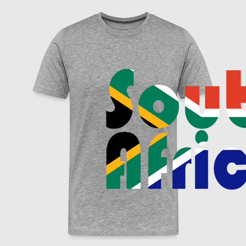 Colors of South Africa - Männer Premium T-Shirt