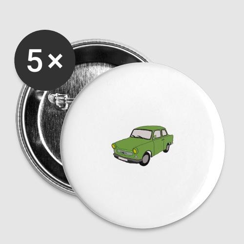 Trabant - Buttons groß 56 mm (5er Pack)
