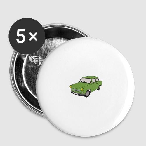 Trabant - Buttons mittel 32 mm (5er Pack)