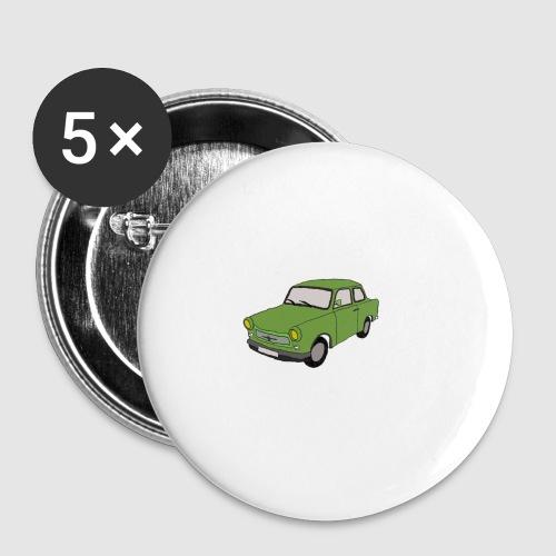 Trabant - Buttons klein 25 mm (5er Pack)
