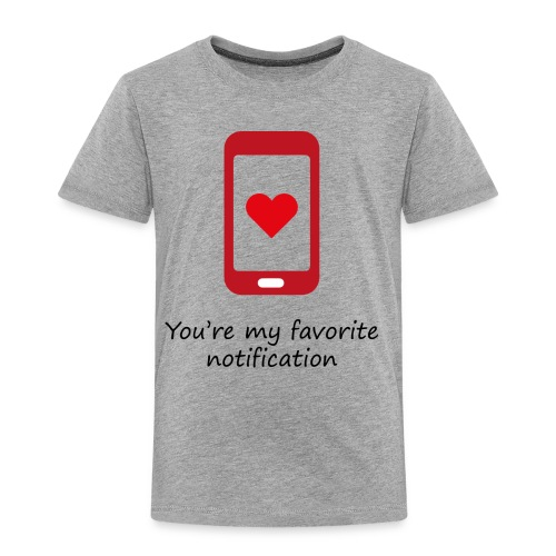 Notification love - T-shirt Premium Enfant