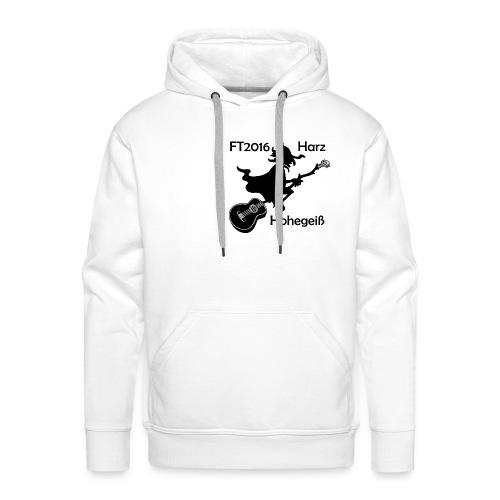 FT2016 bis 5XL - Aufdruck schwarz, klein - Männer Premium Hoodie