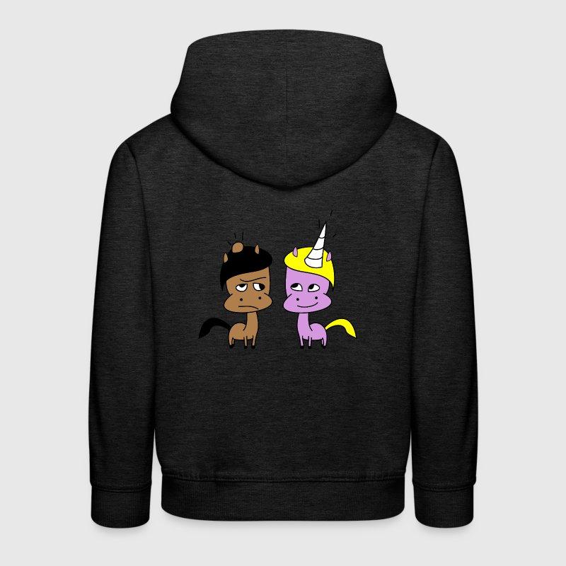 Lui et elle Sweats - Pull à capuche Premium Enfant