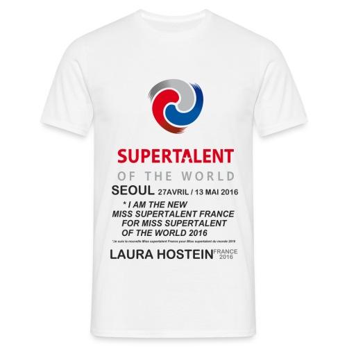 Tee shirt Bio Homme Miss Supertalent of the World - T-shirt Homme