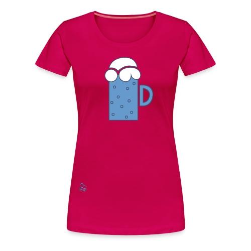 Bier [f] - Frauen Premium T-Shirt