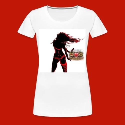 WLM Dancing Girl Top white - Frauen Premium T-Shirt