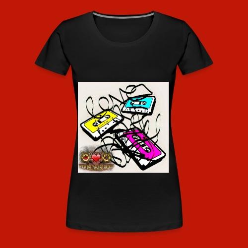 3 Kassetten WLM Top yellow - Frauen Premium T-Shirt