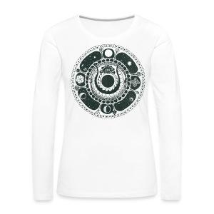 Weltenschlange - Women's Premium Longsleeve Shirt