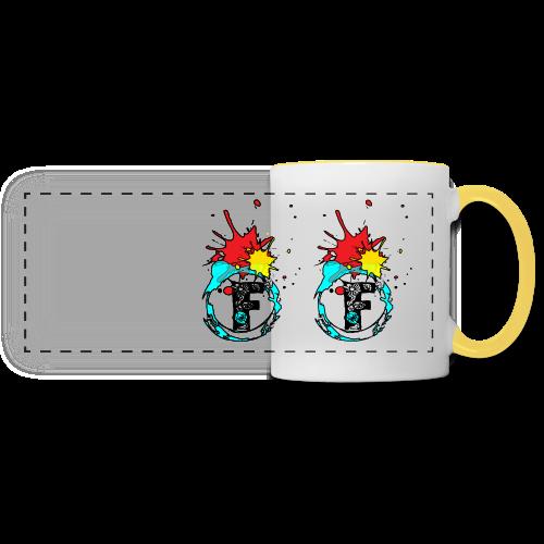 Sport wear - Mug panoramique contrasté et blanc