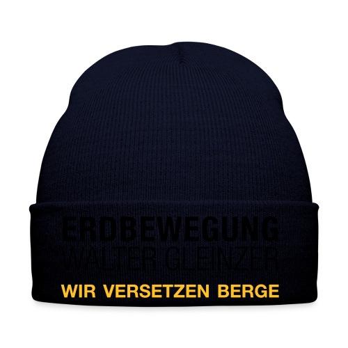T-Shirt Rundhals | Navyblau - Wintermütze