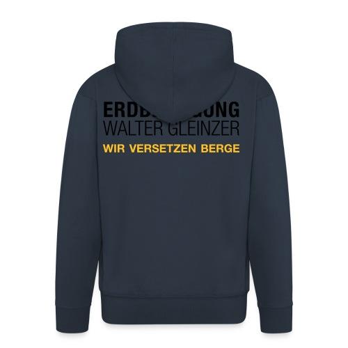 T-Shirt Rundhals | Navyblau - Männer Premium Kapuzenjacke