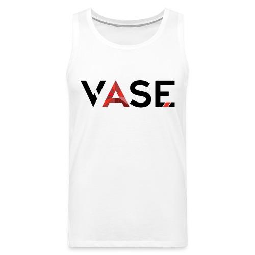 VASE™ Original T-Shirt White - Männer Premium Tank Top