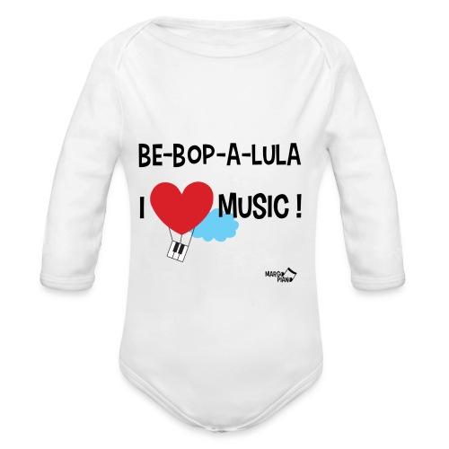 Body Bébé Be-Bop-A-Lula - Body bébé bio manches longues