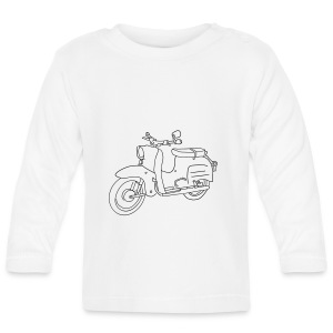 Scooter Simson Schwalbe Baby Bodysuits - Baby Long Sleeve T-Shirt