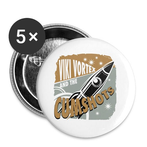 Bright Rocket Logo 2016 - Buttons small 25 mm
