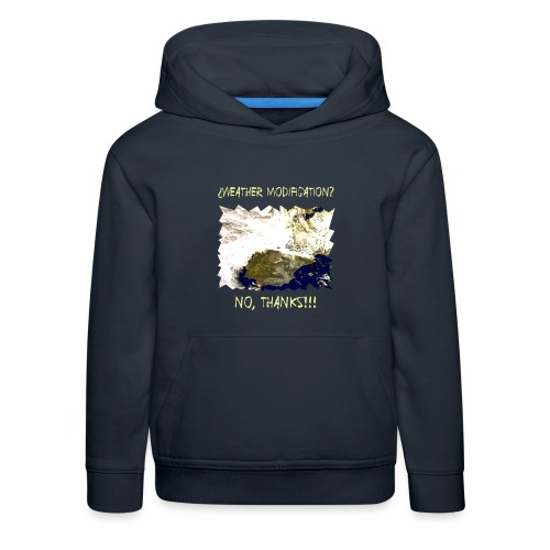 weather modification no thanks - Kids' Premium Hoodie