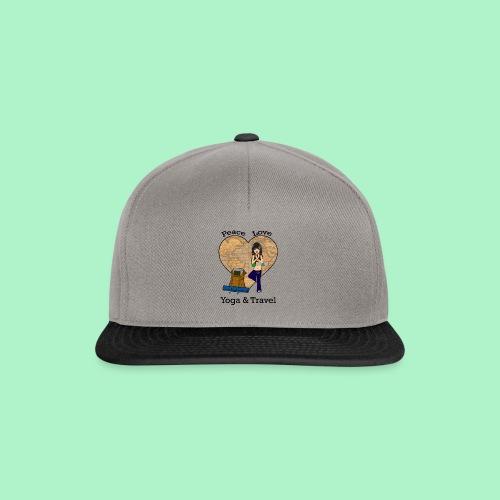 Reisende Yogaliebhaberin - Snapback Cap