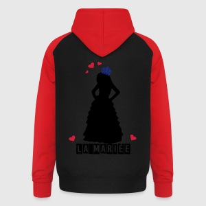 LA MARIée Tabliers - Sweat-shirt baseball unisexe