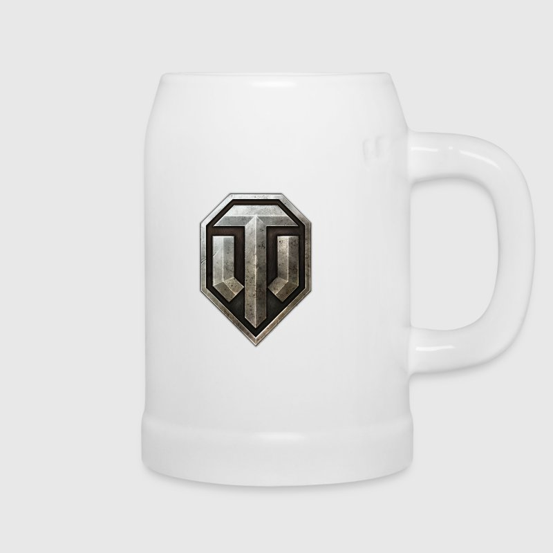 World of Tanks Logo Metall Bierkrug - Bierkrug