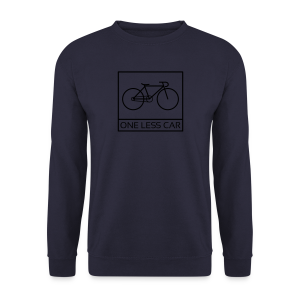 One Less Car - Men's Sweatshirt
