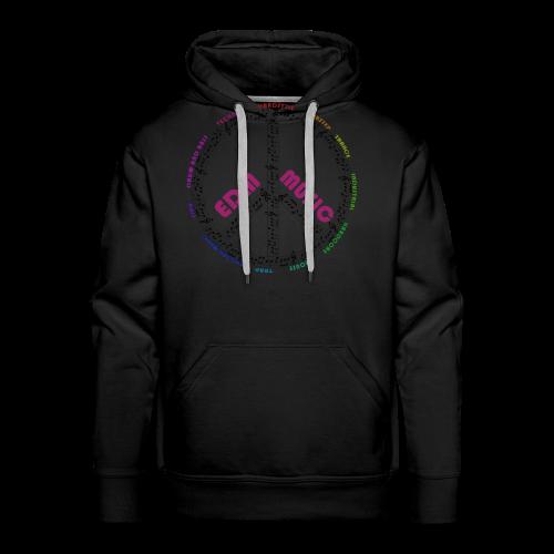 EDM-Music T-Shirt - Männer Premium Hoodie