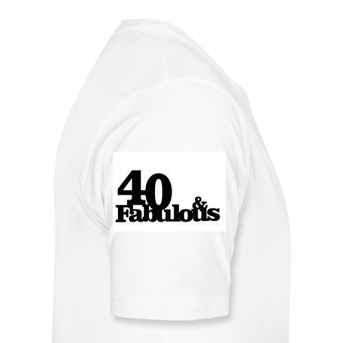 40& Fabulous - Männer Premium T-Shirt