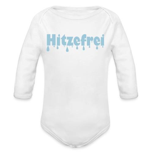 Hitzefrei - Baby Bio-Langarm-Body