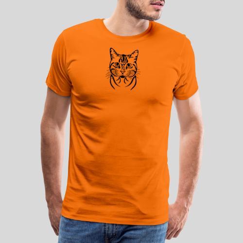Katzenkopf - Männer Premium T-Shirt