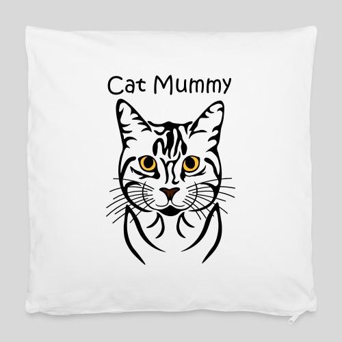 Katzenkopf/Cat Mummy - Kissenbezug 40 x 40 cm