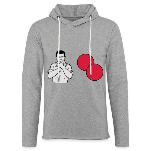 Choke on my balls - Light Unisex Sweatshirt Hoodie