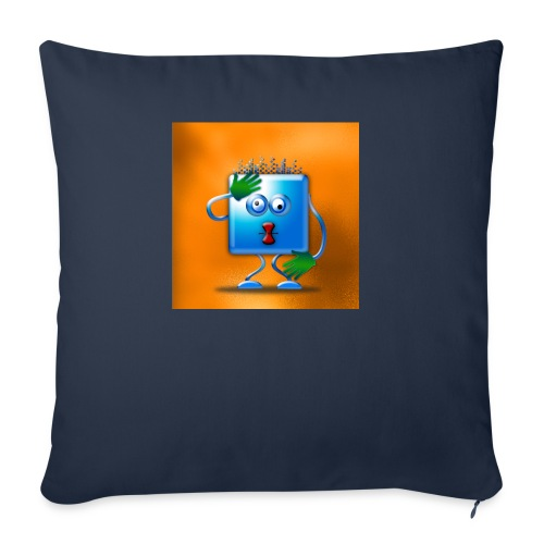 cubickly challenged - Sofa pillow cover 44 x 44 cm