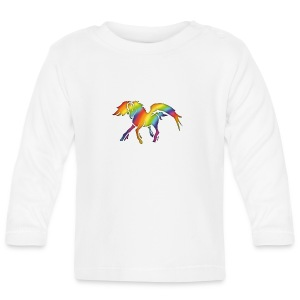 PEGASE Arc-en-ciel - T-shirt manches longues Bébé