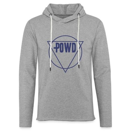 Powd Hipster Shirt - Leichtes Kapuzensweatshirt Unisex