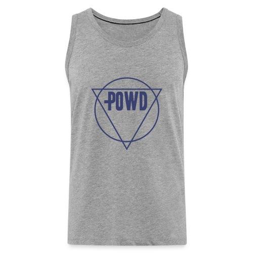 Powd Hipster Shirt - Männer Premium Tank Top