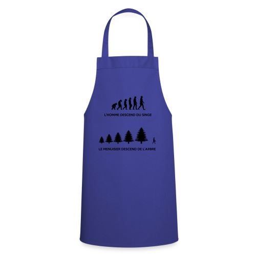 T-shirt Evolution du Menuisier - Tablier de cuisine