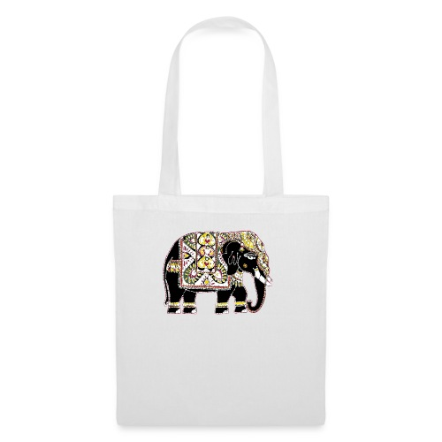 Decorated Indian elephant - Tote Bag